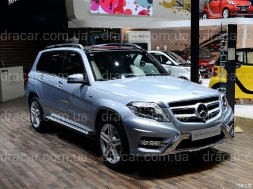 Подножки Mercedes-Benz GLK class X204 2008-2015 артикул 6611