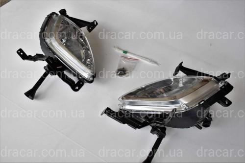 Противотуманные фары DLAA БЕЗ ПРОВОДКИ Hyundai Elantra 2011-2013 артикул 1706