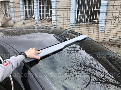 Козырёк на стекло BMW E60 2004-2009 ABS пластик под покраску артикул 764