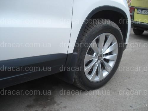 Брызговики Volkswagen Tiguan 2007-2016 (комплект 4шт) артикул 1865