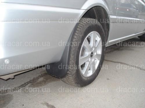 Брызговики Mercedes-Benz Vito/Viano W639 2003-2009 (комплект 4шт) артикул 2635